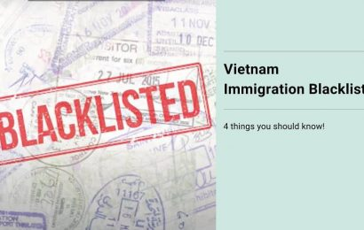 Danh sách đen nhập cư Việt Nam