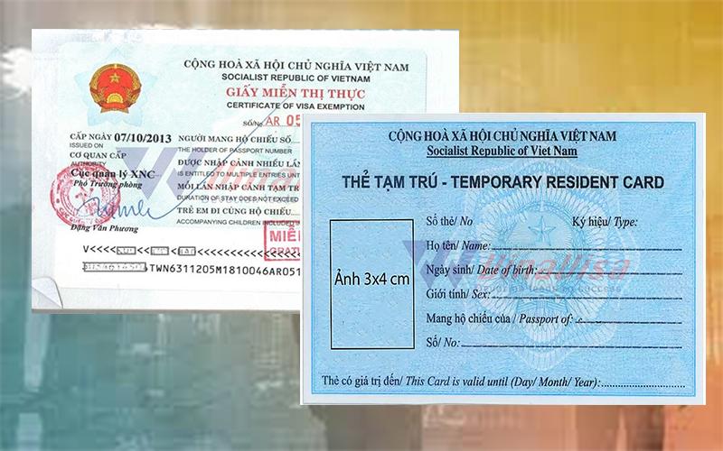 Thẻ Tạm Trú Việt Nam