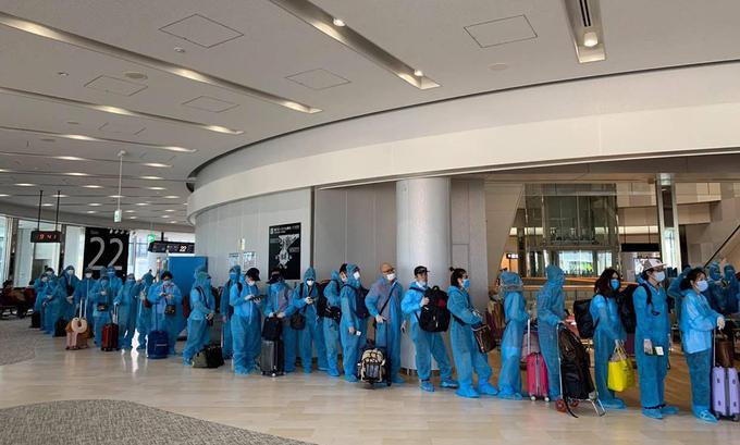 Dịch vụ hồi hương từ Nhật Bản